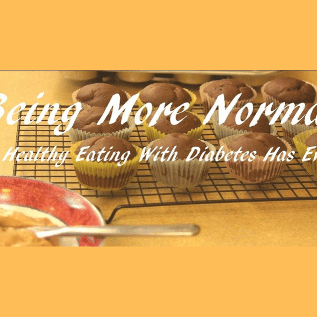 Eating with diabetes has involved